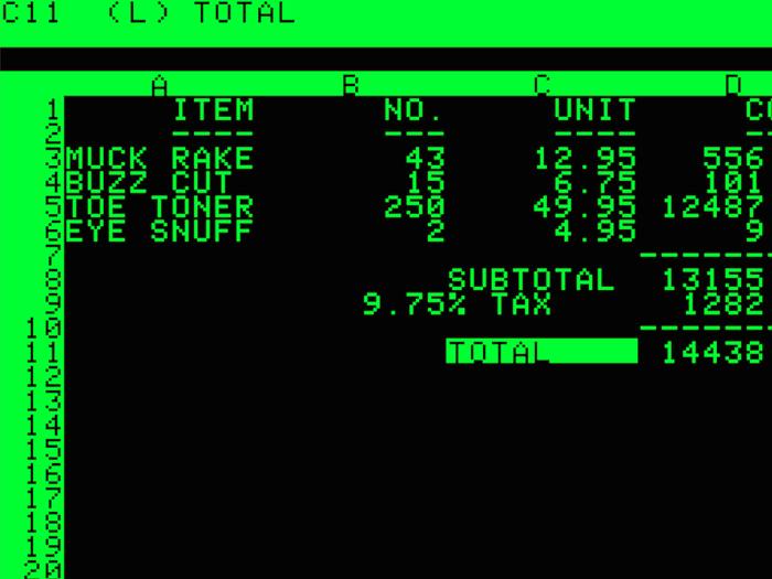 VisiCalc Anniversary